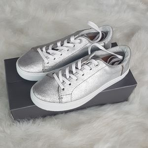 Brand new silver tom sneakers